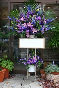 名古屋の花屋カームクームのスタンド花サンプル3
