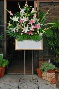 名古屋の花屋カームクームのスタンド花サンプル17