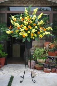 名古屋の花屋カームクームのスタンド花サンプル26