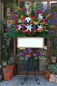 名古屋の花屋カームクームのスタンド花サンプル27