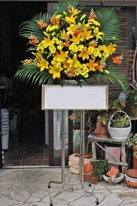名古屋の花屋カームクームのスタンド花サンプル32