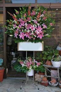 名古屋の花屋カームクームのスタンド花サンプル34
