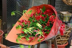 名古屋の花屋カームクームの花束アレンジメント/サンプル6