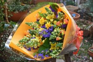 名古屋の花屋カームクームの花束アレンジメント/サンプル14