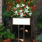 名古屋の花屋カームクームのスタンド花サンプル1