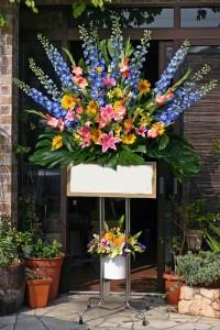名古屋の花屋カームクームのスタンド花サンプル16