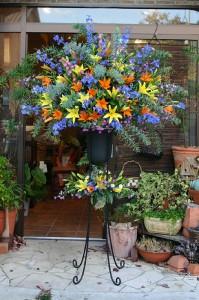 名古屋の花屋カームクームのスタンド花サンプル18