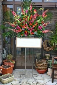 名古屋の花屋カームクームのスタンド花サンプル19