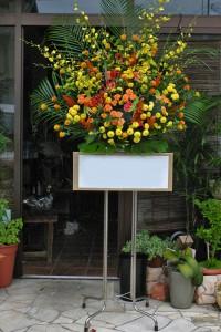 名古屋の花屋カームクームのスタンド花サンプル25